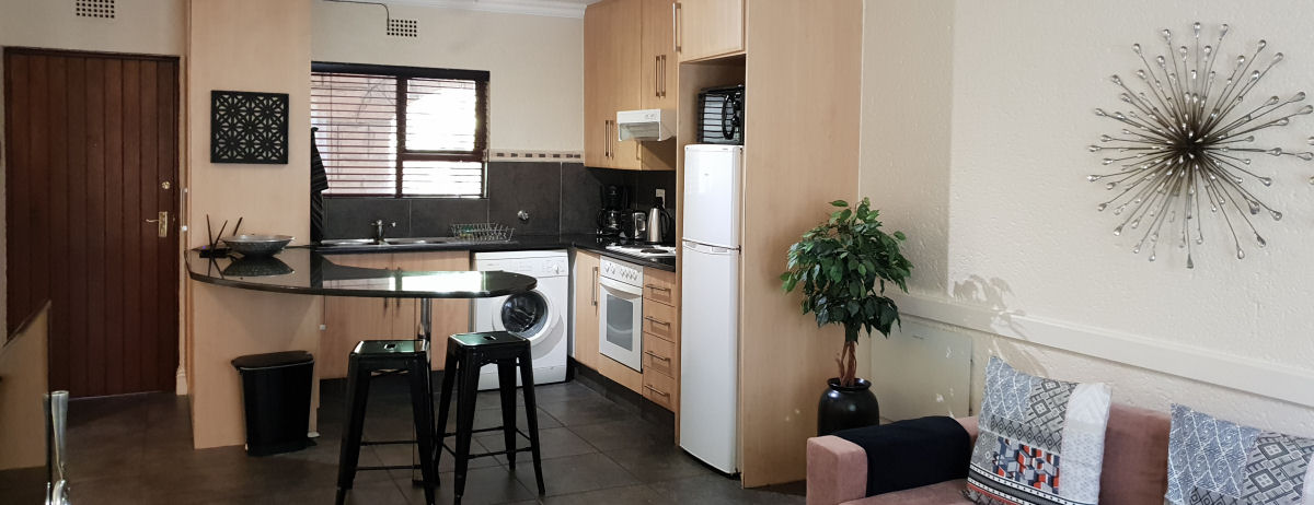 One and two bedroom self-catering apartments Sandton